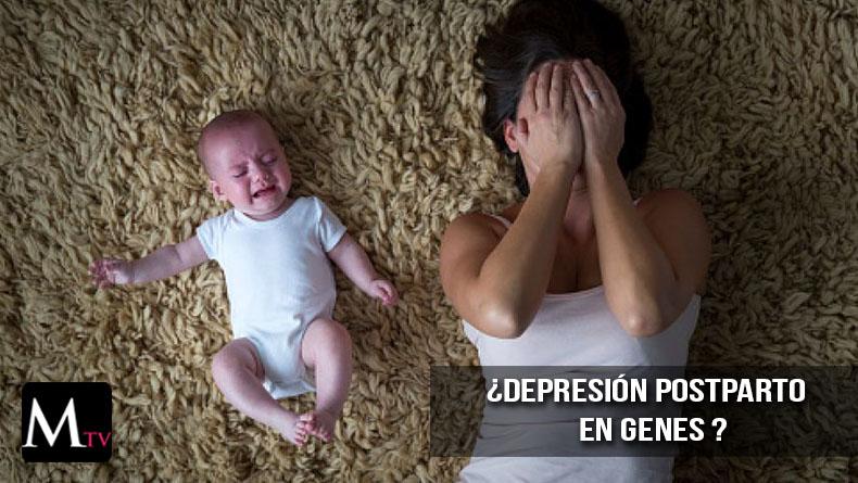 Depresión postparto se encontaría en genes