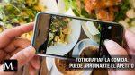 Fotografiar tu comida puede arruinarte el apetito