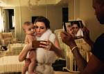 Publican presunta foto del hijo de Kim Kardashian