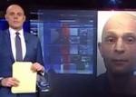 Periodista presentó a un criminal que se parece a él