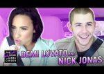 Nick Jonas, Demi Lovato hicieron un Carpool Karaoke junto a James Corden