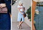 Mira cómo usar una falda de jean como una adulta