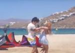 Lindsay Lohan es fuertemente agredida por el novio