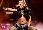 Britney Spears por poco enseña más que sus pasos de baile