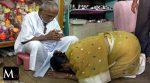 Es un monje hindú, dice tener 120 años y los tres secretos fundamentales para lograrlo