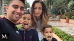 Cristhian Noboa de vacaciones familiares