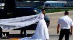 Novia muere en helicóptero camino a su boda