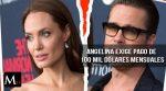 Angelina Jolie exige US$ 100 mil por mes de pensión para sus hijos