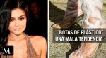 """Kylie Jenner y su nueva tendencia, """"botas de plástico transparente"""""""