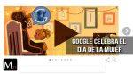 Google celebra el día de la mujer con un doodle