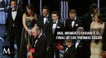 Cómo fue el momento del histórico error en los Oscar 2017