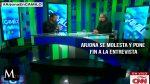 Ricardo Arjona se enojó y suspendió una entrevista en vivo con CNN