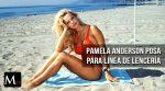 Pamela Anderson protagoniza línea de lencería