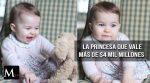 La Princesa Charlotte, una bebé que vale más de $4 mil millones