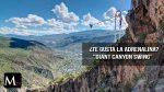 «Giant Canyon Swing» la atracción más emocionante  de Colorado