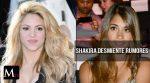Shakira desmiente problemas con Antonella Roccuzzo