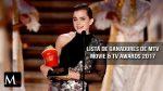 Los premios MTV Movie & TV Awards 2017: Lista de ganadores