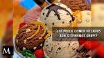 ¿Se puede comer helados aún si estamos enfermos?