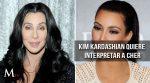 Kim Kardashian quiere interpretar a Cher en el cine