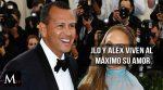 Jennifer López y Alex Rodríguez viven al máximo su amor
