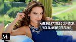 Kate del Castillo denuncia violación de derechos humanos