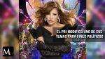 Plagio de canción de Gloria Trevi para fines políticos