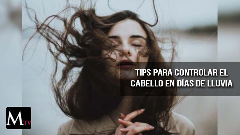 Tips para controlar el cabello en días de lluvia