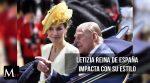 Letizia: el estilo y moda nacidos en la realeza de España.