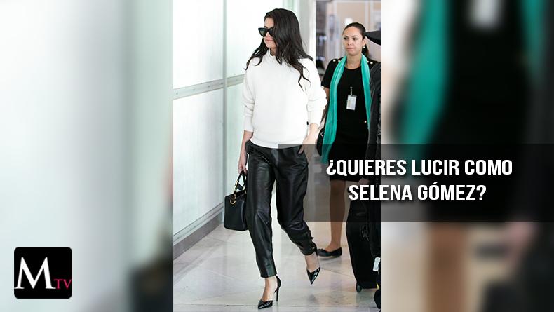 Viste a la última como Selena Gómez