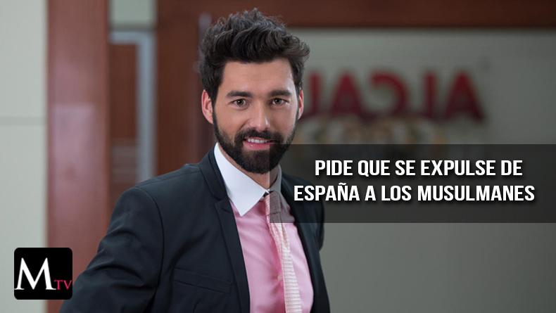 El actor Gonzalo Peña es catalogado como racista