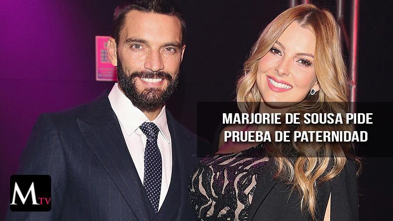 Marjorie de Sousa pide prueba de paternidad