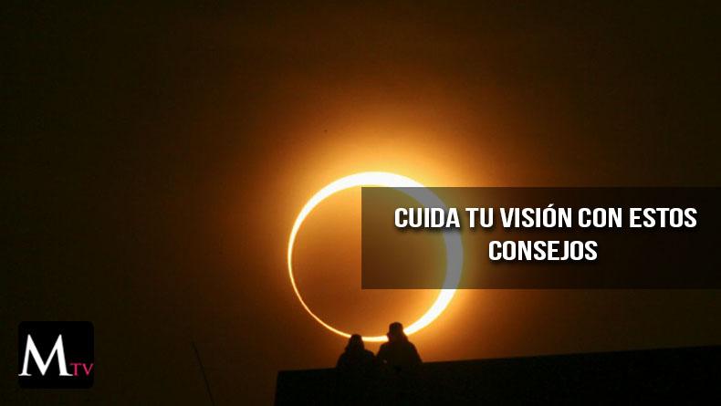 Opciones para ver el eclipse de sol sin que te afecte a los ojos