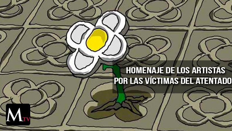 Las redes son usadas por los artístas para mostrar sus condolencias