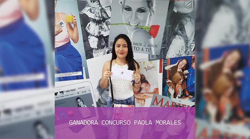 Ganadora del Concurso: Maquillaje con Paola Morales