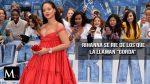 Rihanna no se averguenza de su subida de peso