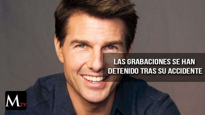 El accidente de Tom Cruise necesitará un largo periodo de descaso