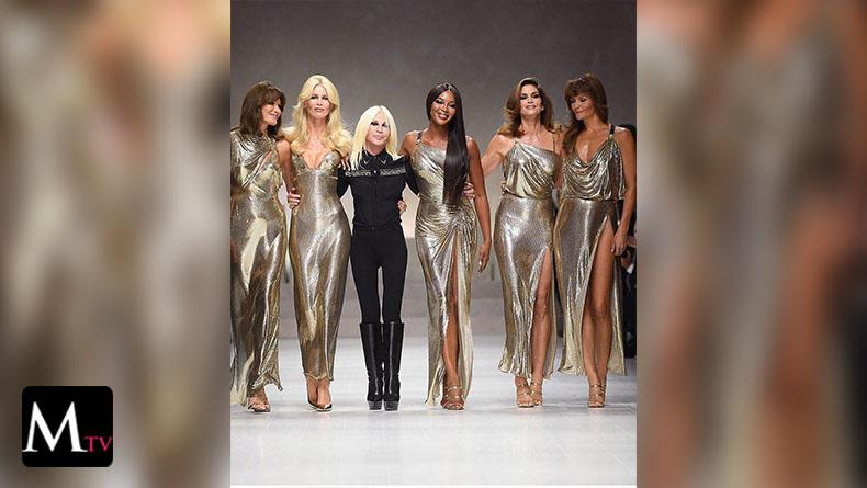 Las supermodelos de los años 90s reunidas en la Pista de Versace