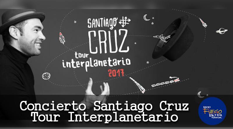 """CONCURSO: GANA ENTRADAS AL CONCIERTO DE """"SANTIAGO CRUZ"""""""