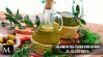 Dieta mediterránea para prevenir el Alzheimer