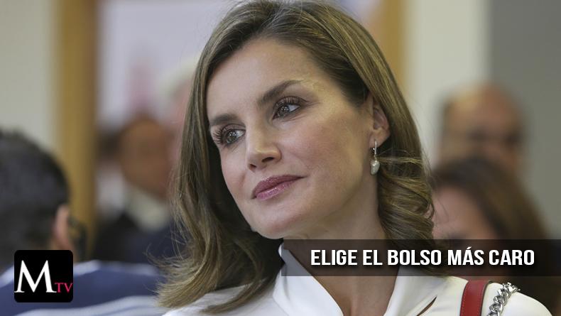 Doña Letizia usó el bolso más caro de ZARA