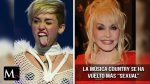 "Miley Cyrus dice que Dolly Parton ha hecho que la música country sea más ""sexual"""