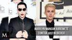 Marilyn Manson arremete contra Justin Bieber
