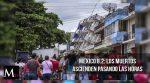 La cifra de muertos asciende en Mexico