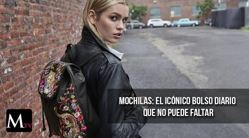 Mochilas: el icónico bolso diario que no puede faltar