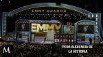 Los premios Emmy con menor audiencia que otros años