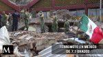 Terremoto de 7.1 grados en la escala de Richter sacudió México