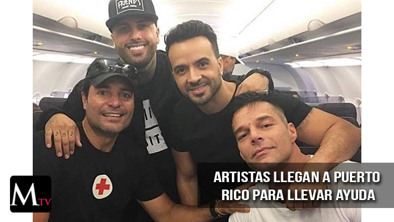 Ricky Martin, Luis Fonsi, Chayanne y Nicky Jam llegan a Puerto Rico