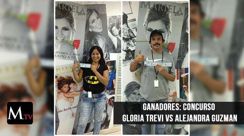 Ganadores de Alejandra Guzman VS Gloria Trevi