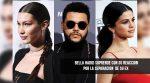 Bella Hadid y su reacción sobre la separación de Selena y The Weeknd