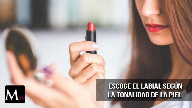 Escoger el tono de labial según tu color de piel